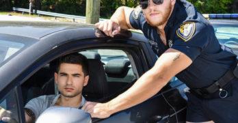 """Ashton McKay Fucks Vadim Black In """"Dick Patrol"""""""