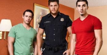 "Ashton McKay, Tobias, and Damien Kyle In ""Dick Patrol"" Part 2"