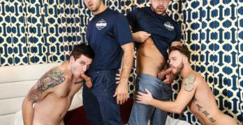 ORGY – Diego Sans, Allen Lucas, Max Wilde, and Damien Stone