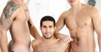 Diego Sans, Allen Lucas and Jake Porter's Hot Threeway