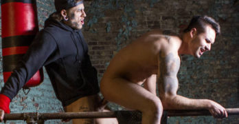 "Bo Sinn Fucks Jax Damon Bareback In ""No Hole Barred"""
