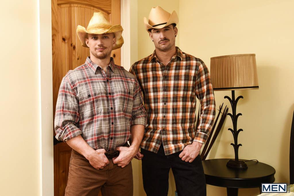 "John Magnum Fucks Sean Maygers In ""The Ranch Hand"""
