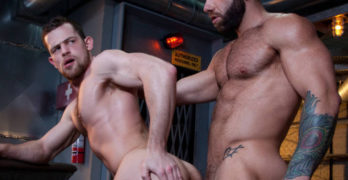 "Eddy Ceetee and Kurtis Wolfe Fuck Bareback In ""Raw Power"""