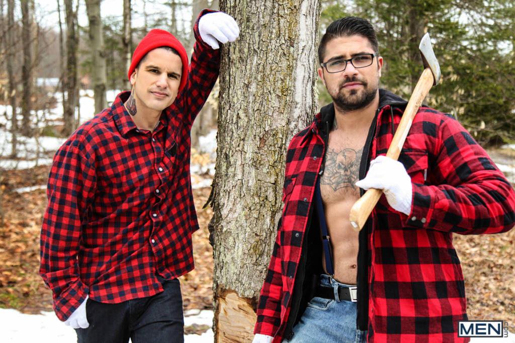"Hung Stud Ryan Bones Fucks Pierre Fitch In ""Lumbersexual"""