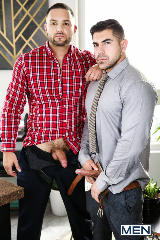 """Damien Stone and Julian Knowles Get It On In """"Paramour"""""""