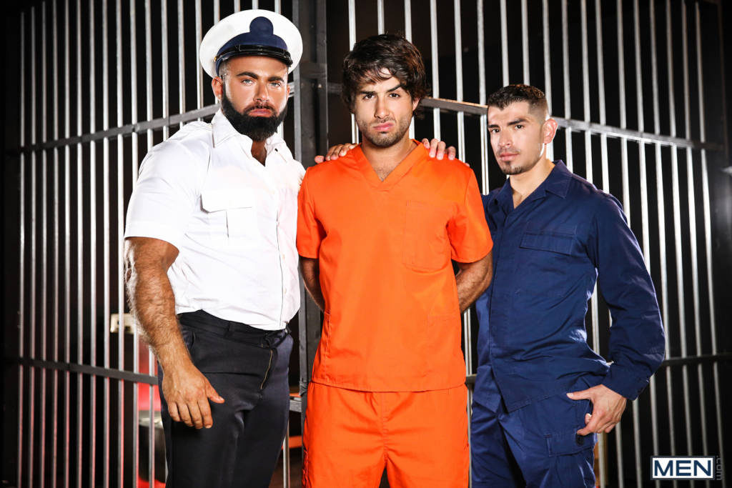 Diego Sans, Steven Roman, and Jeremy Spreadums Hot Threeway