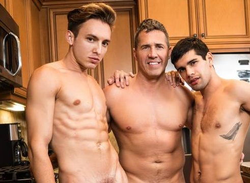 Dean Phoenix Fucks His Step Sons Bar Addison and Ty Mitchell