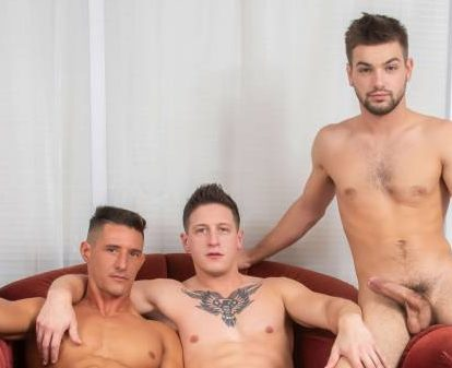 Johnny Rapid Double Penetrated Raw By Dalton Riley and Jax