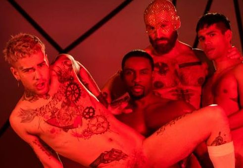 Future Erotica Starring François Sagat, DeAngelo Jackson, Ty Mitchell, and Mickey Taylor