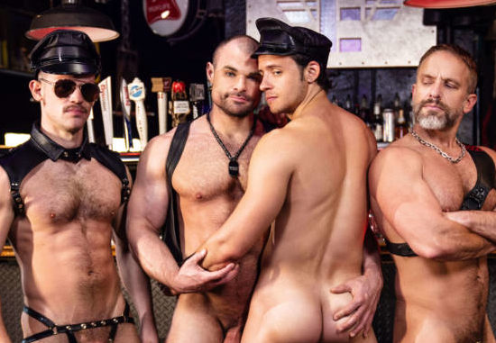 Tom of Finland: Master Cut Starring Matthew Camp, Ricky Roman, River Wilson, and DeAngelo Jackson
