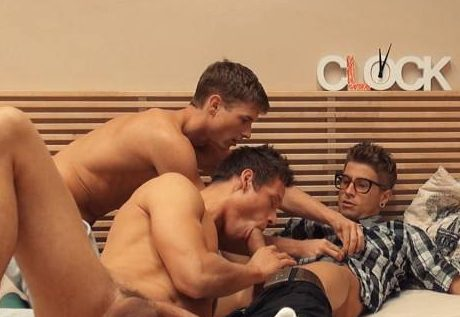 Jeff Mirren, Jack Harrer, and Kevin Warhol's Bareback Threeway
