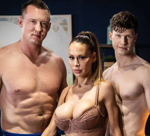 Finn Harding, Pierce Paris, and McKenzie Lee's Bareback Threesome