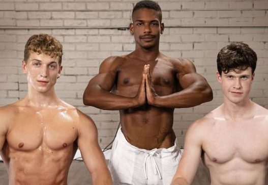 Adrian Hart, Felix Fox, and Finn Harding's Bareback Threesome