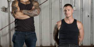 Lorenzo Flexx and Dane Stewart Fuck Rough and Raw