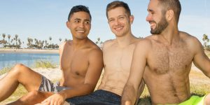 Hector, Deacon and Asher's Bareback 3 Way