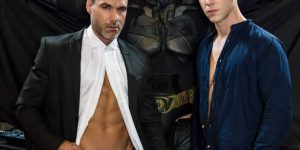 Ryan Bones, Paul Canon, and Manuel Skye - Justice League XXX