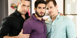 Alex Mecum's Hot 3 Way With Diego Sans and Blake Hunter