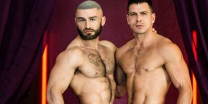 Francois Sagat Is Back In Gay Porn and Getting Fucked By Paddy O'Brian!