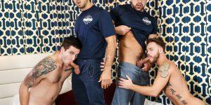 ORGY - Diego Sans, Allen Lucas, Max Wilde, and Damien Stone