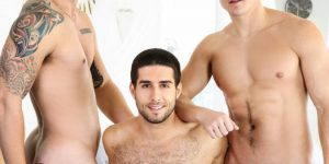 Diego Sans, Allen Lucas and Jake Porter's Hot Threeway