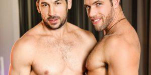 Gay Porn Superstar Leo Giamani Is Back and Fucking Alex Mecum