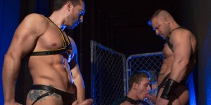 Jimmy Durano, Alexander Gustavo, & Austin Wolf Have The THE URGE - HUNTIN FOR ASS