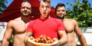 William Seed, Jeremy Spark, and Darcy Oak's Hot Threeway!
