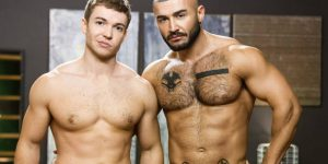 "Francois Sagat Fucks Gabriel Cross In ""Elixir"""