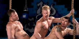 """Johnny V, Austin Wolf, and Jeremy Spreadums - """"The Trainer"""""""