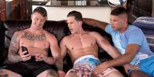 "Roman Todd, Dane Stewart, and Tyler Roberts ""Hot Threeway"""