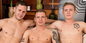 Brenner Bolton, Gunner Canon, and Zane Anders Raw 3 Way