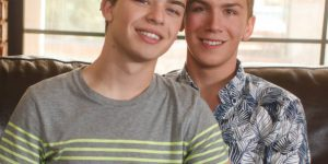 Cute Twinks Jared Scott and Collin Adams Fuck Bareback