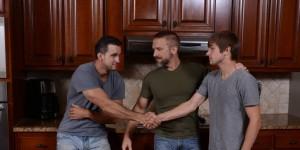 Stepfather's Secret Part - Dirk Caber, Johnny Rapid, & Phenix Saint